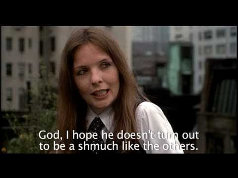 Annie Hall Balcony Scene - it's all about the subtext